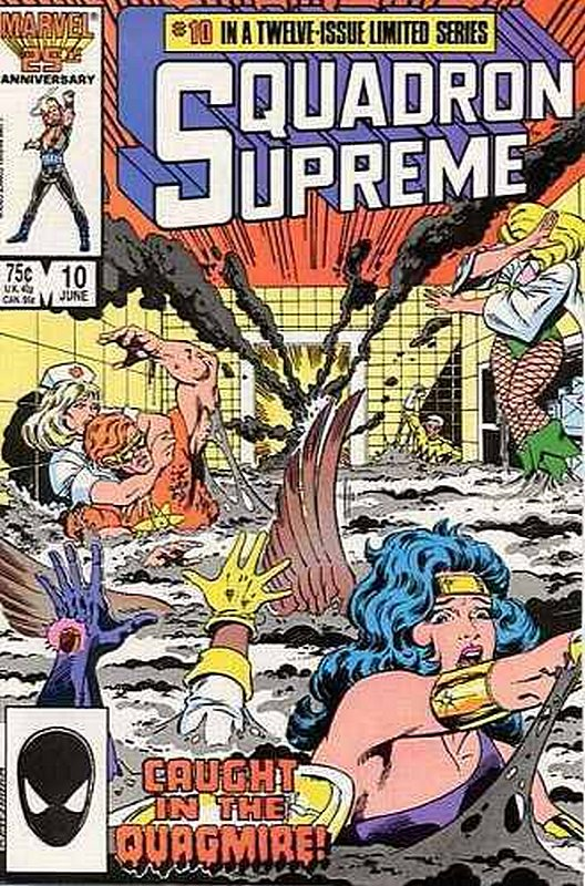 Cover of Squadron Supreme (1985 Ltd) #10. One of 250,000 Vintage American Comics on sale from Krypton!