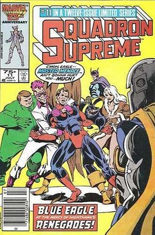 Cover of Squadron Supreme (1985 Ltd) #11. One of 250,000 Vintage American Comics on sale from Krypton!