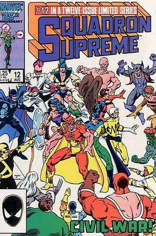 Cover of Squadron Supreme (1985 Ltd) #12. One of 250,000 Vintage American Comics on sale from Krypton!