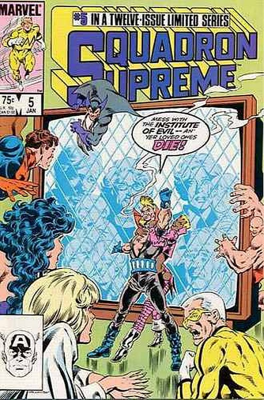 Cover of Squadron Supreme (1985 Ltd) #5. One of 250,000 Vintage American Comics on sale from Krypton!