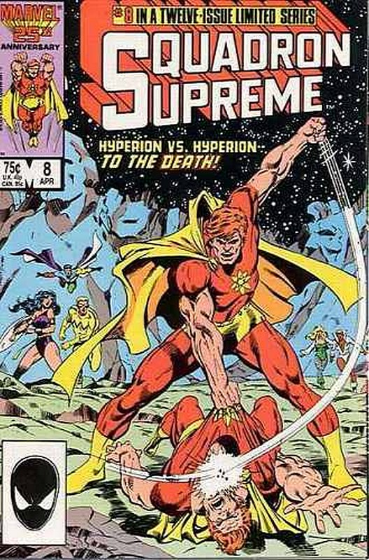 Cover of Squadron Supreme (1985 Ltd) #8. One of 250,000 Vintage American Comics on sale from Krypton!