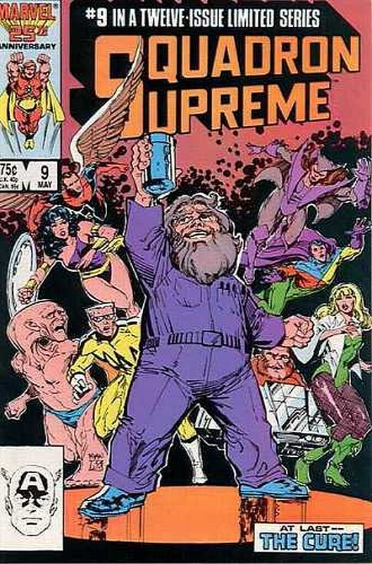 Cover of Squadron Supreme (1985 Ltd) #9. One of 250,000 Vintage American Comics on sale from Krypton!