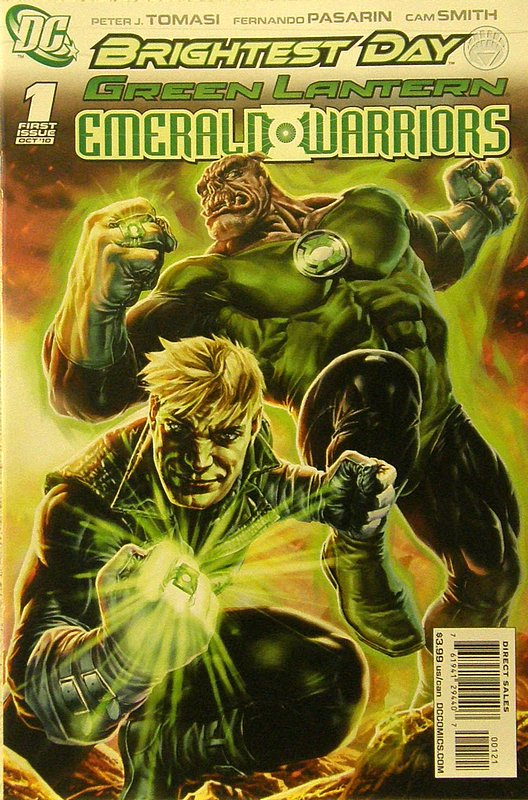 Cover of Green Lantern: Emerald Warriors (Vol 1) #1. One of 250,000 Vintage American Comics on sale from Krypton!