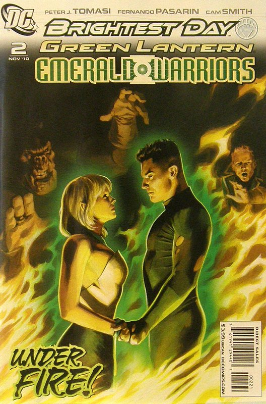 Cover of Green Lantern: Emerald Warriors (Vol 1) #2. One of 250,000 Vintage American Comics on sale from Krypton!