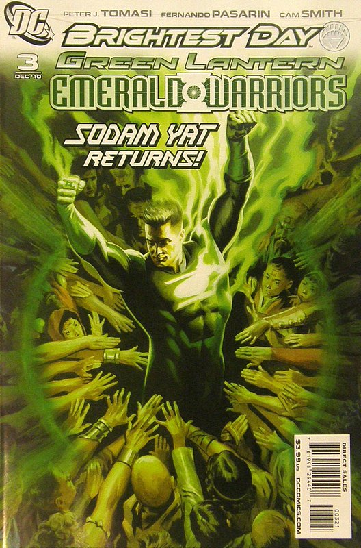 Cover of Green Lantern: Emerald Warriors (Vol 1) #3. One of 250,000 Vintage American Comics on sale from Krypton!