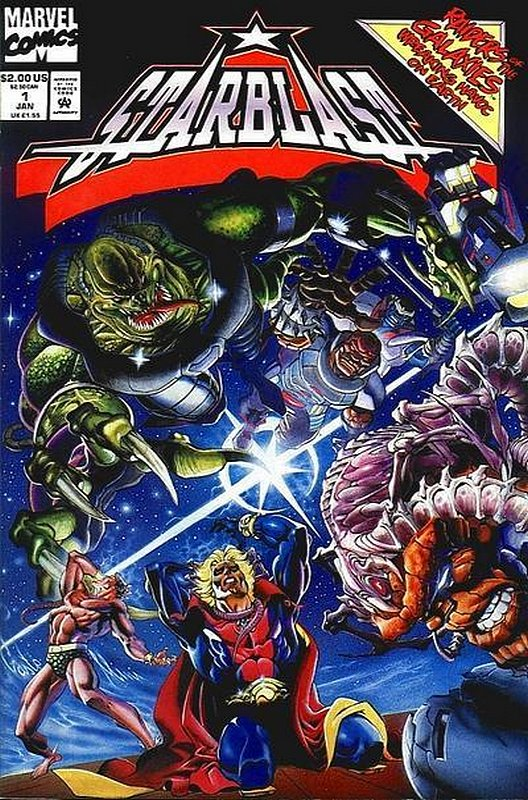 Cover of Starblast (1994 Ltd) #1. One of 250,000 Vintage American Comics on sale from Krypton!