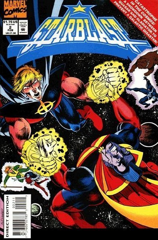 Cover of Starblast (1994 Ltd) #2. One of 250,000 Vintage American Comics on sale from Krypton!