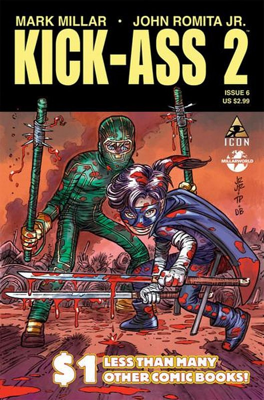Cover of Kick-Ass (2010 Ltd) #6. One of 250,000 Vintage American Comics on sale from Krypton!