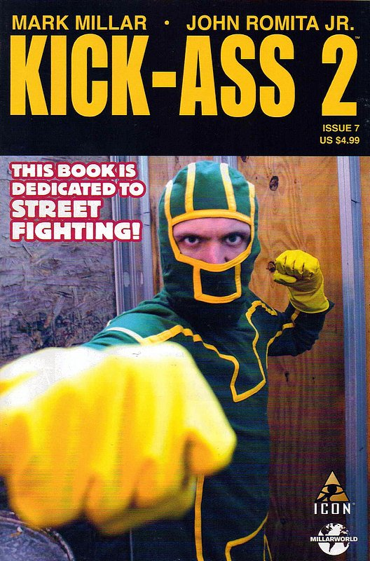 Cover of Kick-Ass (2010 Ltd) #7. One of 250,000 Vintage American Comics on sale from Krypton!