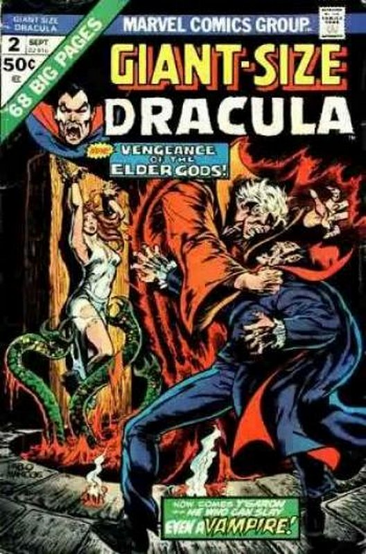 Cover of Giant-Size Dracula (Vol 1) #2. One of 250,000 Vintage American Comics on sale from Krypton!