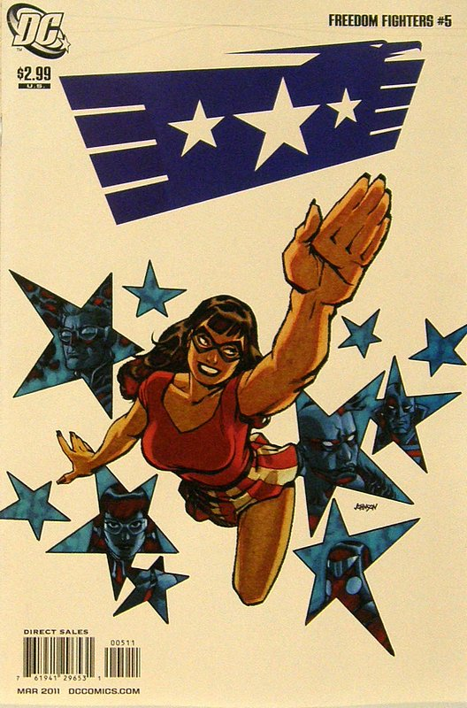 Cover of Freedom Fighters (Vol 2) #5. One of 250,000 Vintage American Comics on sale from Krypton!