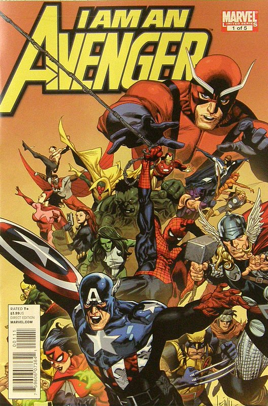 Cover of I am an Avenger (2010 Ltd) #1. One of 250,000 Vintage American Comics on sale from Krypton!