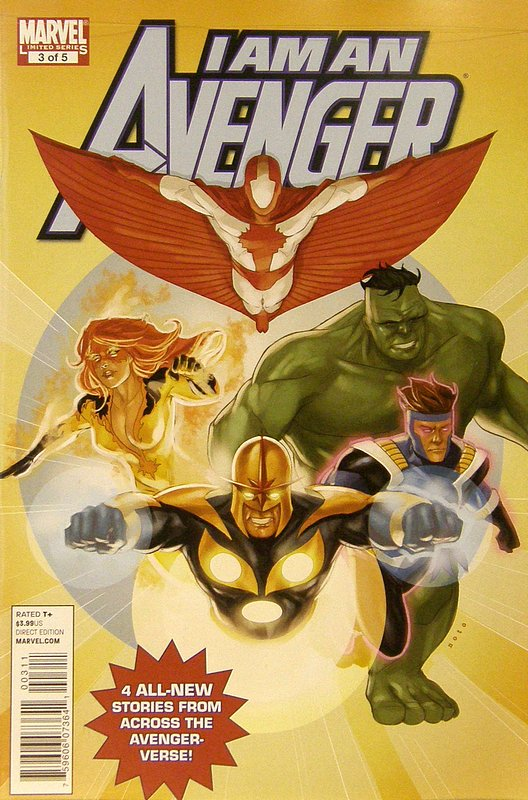 Cover of I am an Avenger (2010 Ltd) #3. One of 250,000 Vintage American Comics on sale from Krypton!