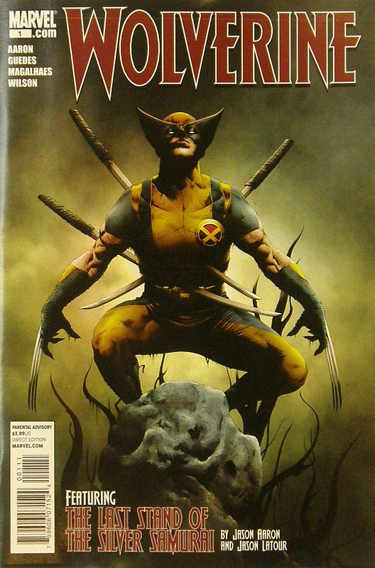Cover of Wolverine (Vol 3) #1. One of 250,000 Vintage American Comics on sale from Krypton!