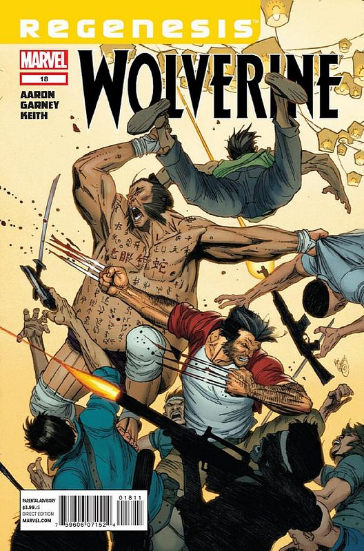 Cover of Wolverine (Vol 3) #18. One of 250,000 Vintage American Comics on sale from Krypton!