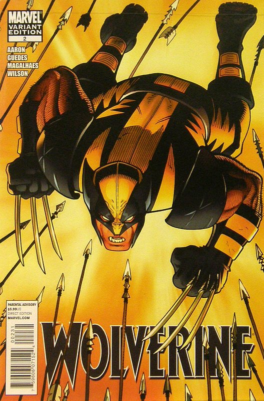 Cover of Wolverine (Vol 3) #2. One of 250,000 Vintage American Comics on sale from Krypton!