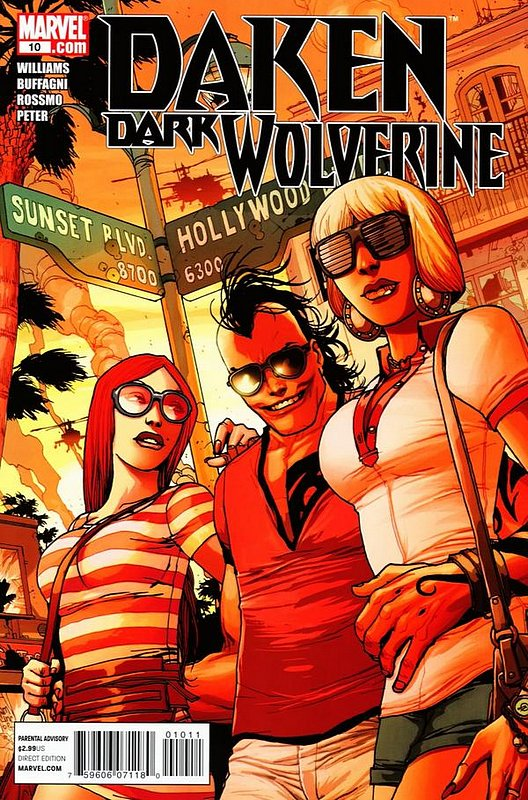 Cover of Daken Dark Wolverine (Vol 1) #10. One of 250,000 Vintage American Comics on sale from Krypton!