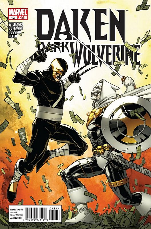 Cover of Daken Dark Wolverine (Vol 1) #12. One of 250,000 Vintage American Comics on sale from Krypton!