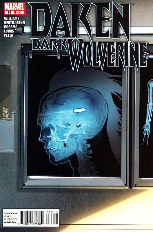 Cover of Daken Dark Wolverine (Vol 1) #15. One of 250,000 Vintage American Comics on sale from Krypton!