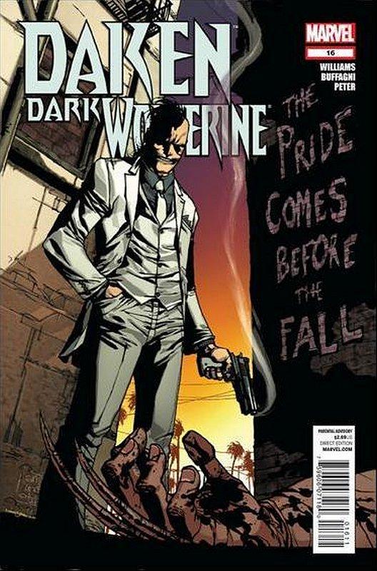Cover of Daken Dark Wolverine (Vol 1) #16. One of 250,000 Vintage American Comics on sale from Krypton!