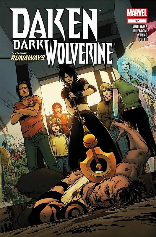 Cover of Daken Dark Wolverine (Vol 1) #17. One of 250,000 Vintage American Comics on sale from Krypton!