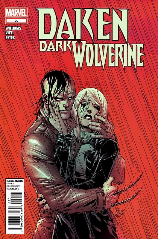 Cover of Daken Dark Wolverine (Vol 1) #20. One of 250,000 Vintage American Comics on sale from Krypton!