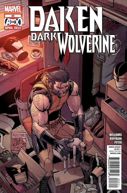 Cover of Daken Dark Wolverine (Vol 1) #23. One of 250,000 Vintage American Comics on sale from Krypton!