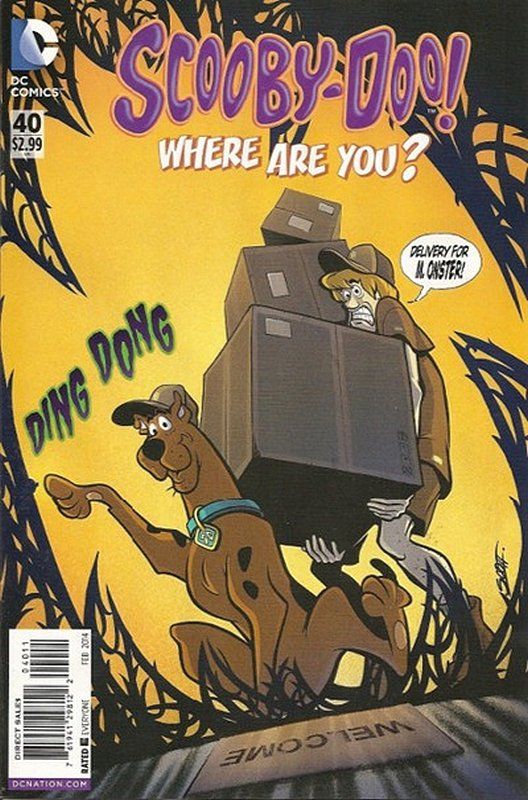 Cover of Scooby Doo: Where are you? #40. One of 250,000 Vintage American Comics on sale from Krypton!
