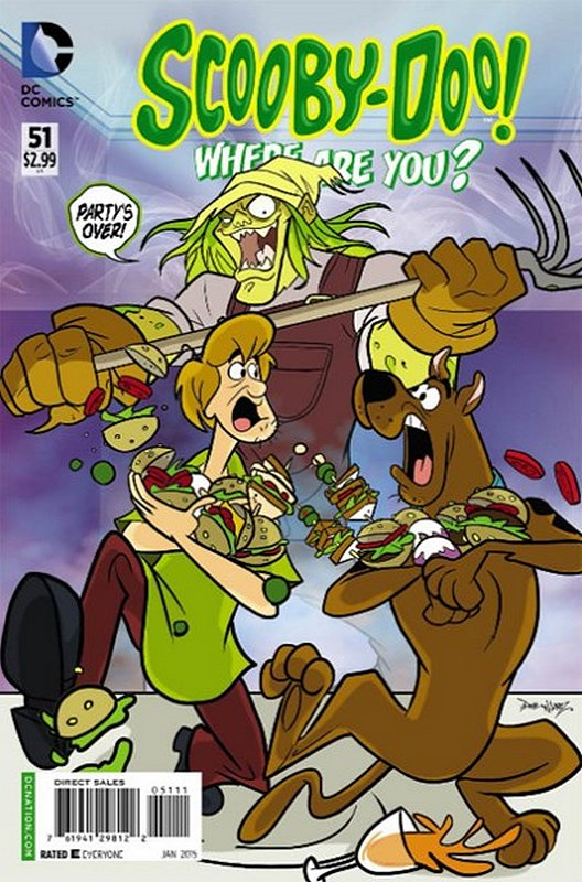 Cover of Scooby Doo: Where are you? #51. One of 250,000 Vintage American Comics on sale from Krypton!