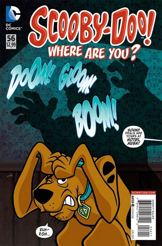Cover of Scooby Doo: Where are you? #56. One of 250,000 Vintage American Comics on sale from Krypton!
