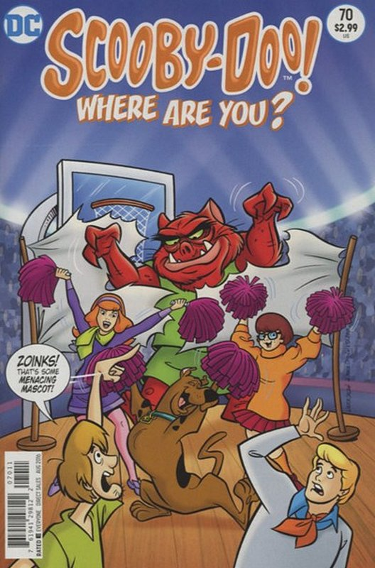 Cover of Scooby Doo: Where are you? #70. One of 250,000 Vintage American Comics on sale from Krypton!