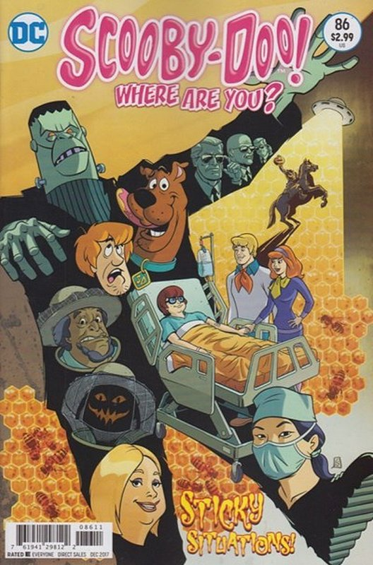 Cover of Scooby Doo: Where are you? #86. One of 250,000 Vintage American Comics on sale from Krypton!