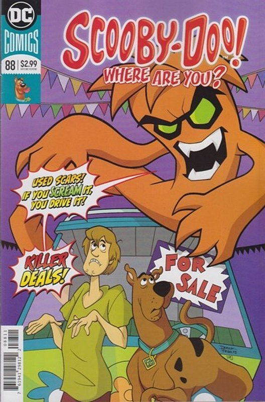 Cover of Scooby Doo: Where are you? #88. One of 250,000 Vintage American Comics on sale from Krypton!