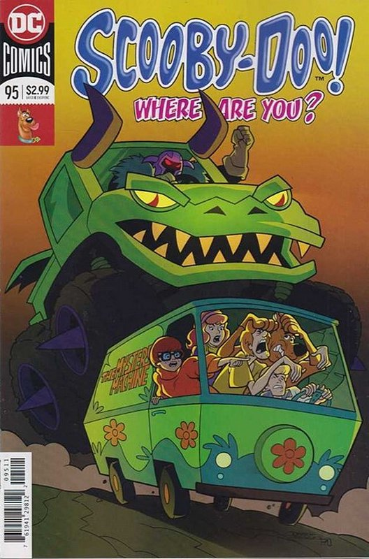 Cover of Scooby Doo: Where are you? #95. One of 250,000 Vintage American Comics on sale from Krypton!