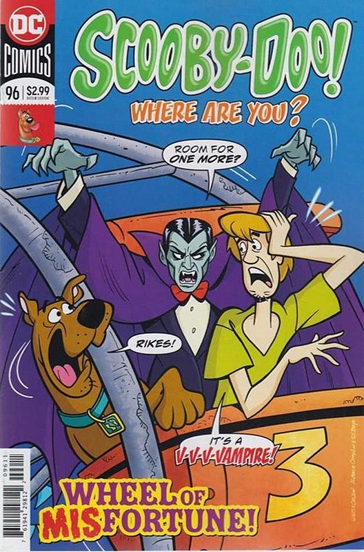 Cover of Scooby Doo: Where are you? #96. One of 250,000 Vintage American Comics on sale from Krypton!