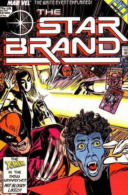 Cover of Star Brand (Vol 1) #12. One of 250,000 Vintage American Comics on sale from Krypton!