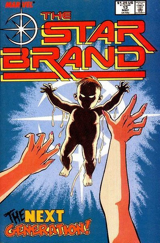Cover of Star Brand (Vol 1) #13. One of 250,000 Vintage American Comics on sale from Krypton!