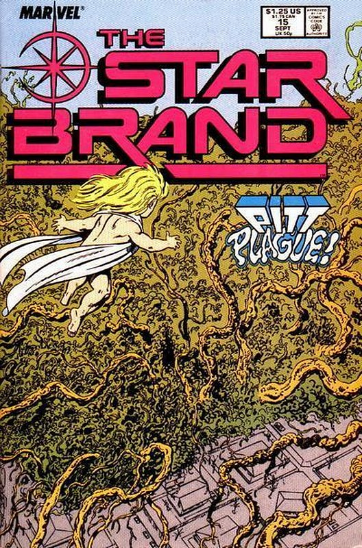 Cover of Star Brand (Vol 1) #15. One of 250,000 Vintage American Comics on sale from Krypton!