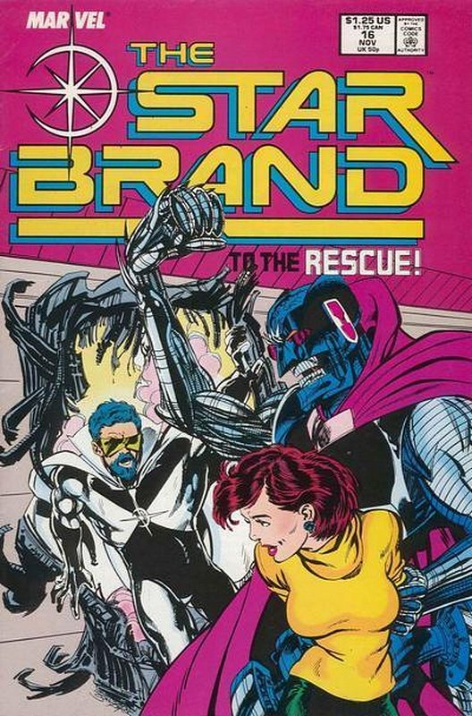 Cover of Star Brand (Vol 1) #16. One of 250,000 Vintage American Comics on sale from Krypton!