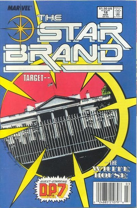Cover of Star Brand (Vol 1) #18. One of 250,000 Vintage American Comics on sale from Krypton!