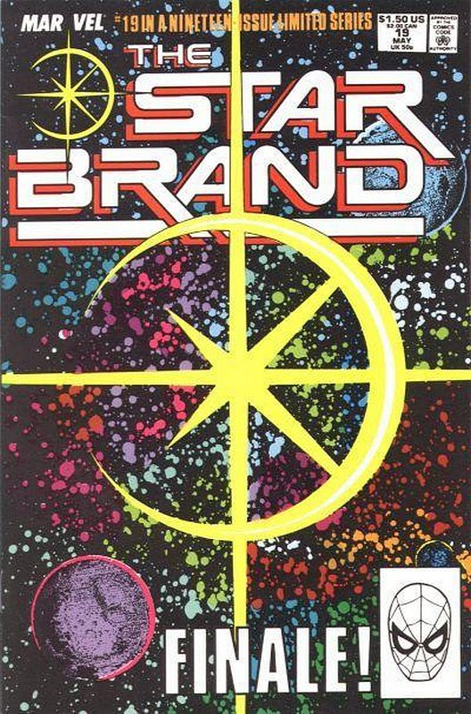 Cover of Star Brand (Vol 1) #19. One of 250,000 Vintage American Comics on sale from Krypton!