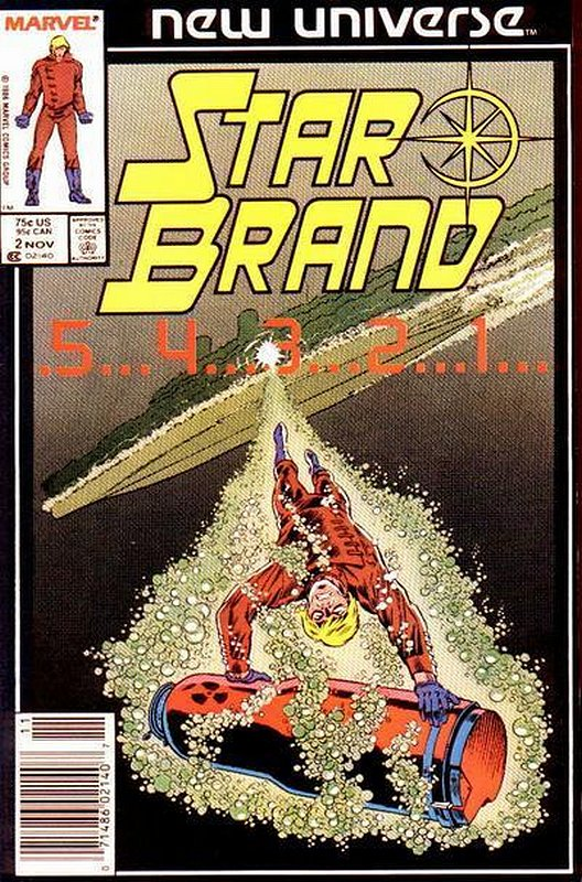 Cover of Star Brand (Vol 1) #2. One of 250,000 Vintage American Comics on sale from Krypton!