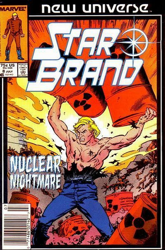 Cover of Star Brand (Vol 1) #8. One of 250,000 Vintage American Comics on sale from Krypton!