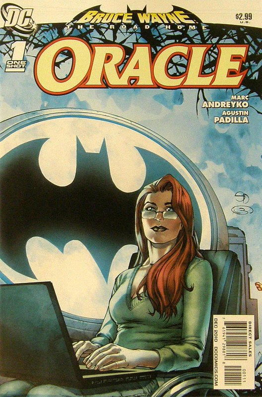 Cover of Bruce Wayne: Road Home - Oracle #1. One of 250,000 Vintage American Comics on sale from Krypton!