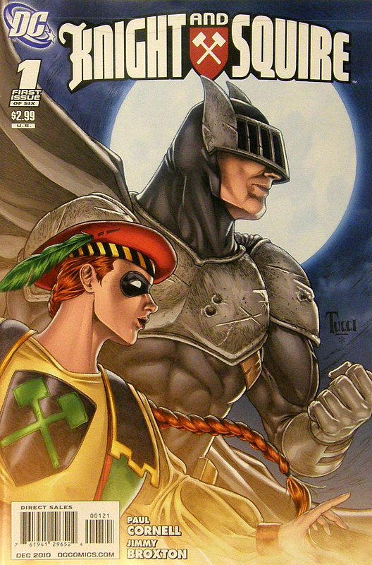 Cover of Knight & Squire (2010 Ltd) #1. One of 250,000 Vintage American Comics on sale from Krypton!