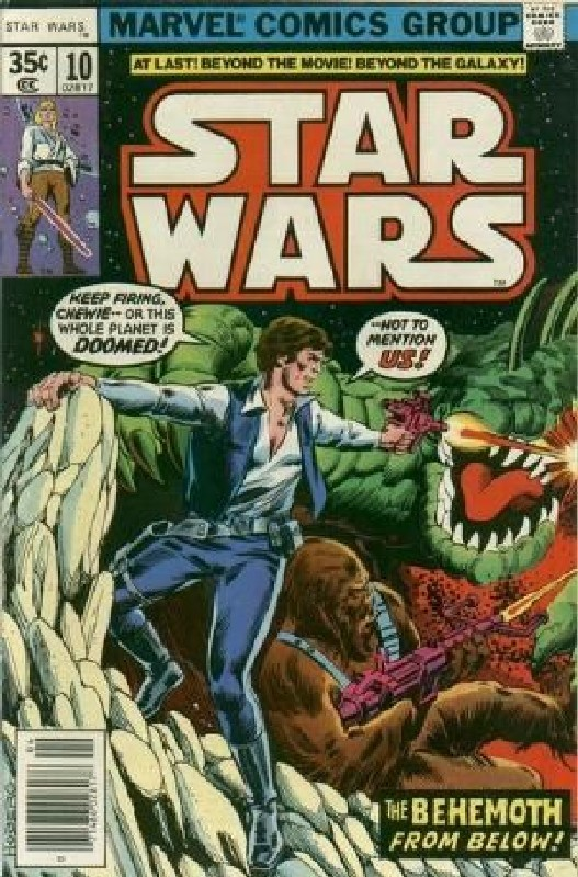 Cover of Star Wars (Vol 1) (Marvel) #10. One of 250,000 Vintage American Comics on sale from Krypton!