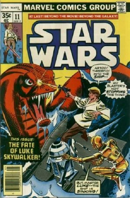 Cover of Star Wars (Vol 1) (Marvel) #11. One of 250,000 Vintage American Comics on sale from Krypton!
