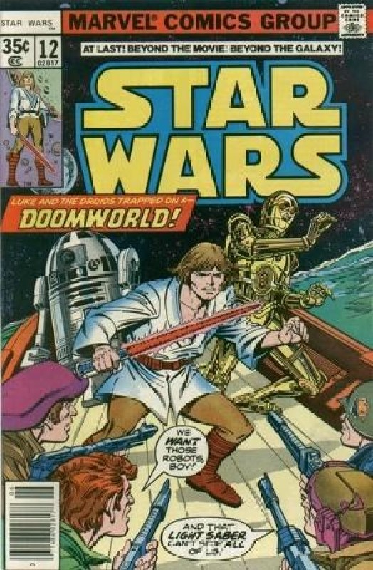 Cover of Star Wars (Vol 1) (Marvel) #12. One of 250,000 Vintage American Comics on sale from Krypton!