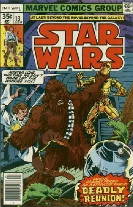 Cover of Star Wars (Vol 1) (Marvel) #13. One of 250,000 Vintage American Comics on sale from Krypton!