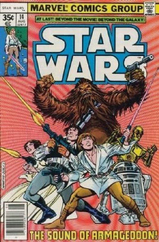Cover of Star Wars (Vol 1) (Marvel) #14. One of 250,000 Vintage American Comics on sale from Krypton!